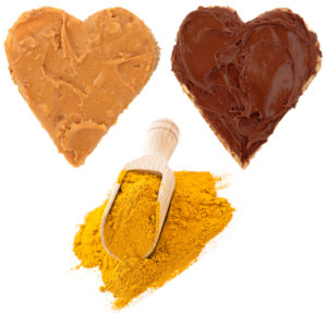 Peanut butter and chocolate and curry powder