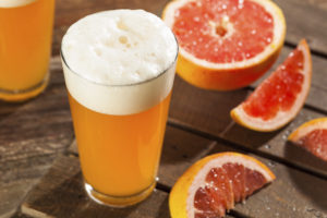 Sour Grapefruit Craft Beer Ready to Drink